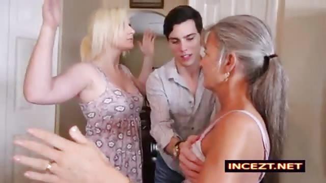 mamy uczy nastolatki porno